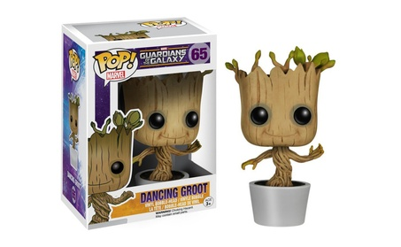 Funko POP Marvel Dancing Groot Bobble Action Figure 58f38d2a-fb28-4209-a1a9-23007da0f5a6