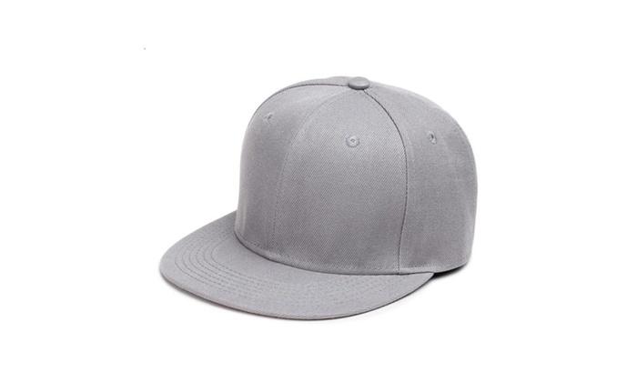 Unisex Snapback Hats Hip Hop Flat Bill Hat Baseball Cap