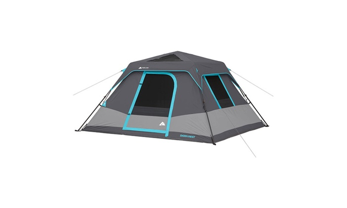 Ozark Trail 6-Person C&ing Dark Rest Instant Cabin Tent  sc 1 st  Groupon & Ozark Trail 6-Person Camping Dark Rest Instant Cabin Tent | Groupon
