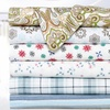Bibb Home 100% Cotton Printed Flannel Sheet Set