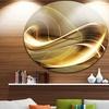 Elegant Sofa' Disc Large Abstract Circle Metal Wall Art