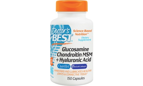 Glucosamine Chondroitin MSM and Hyaluronic Acid
