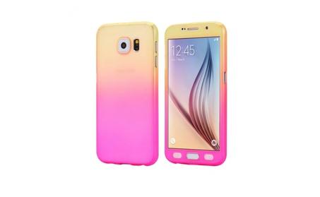 Smasung Galaxy 7 Gradiant Color Cover Case With Tempered Glass e5fa795c-d701-49f9-bfb2-901e4cc411da