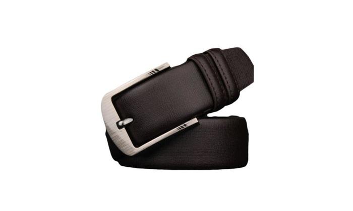 Men's Pin Buckle Ornament 135cm Casual Fashion Belt