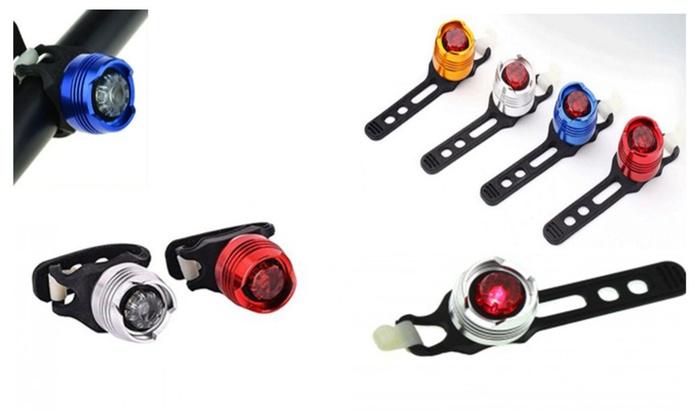 Superior Quality Waterproof Bright Led Adjustable Bike Light 4 Pack