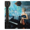 Yelena Lamm Before the Concert Canvas Print