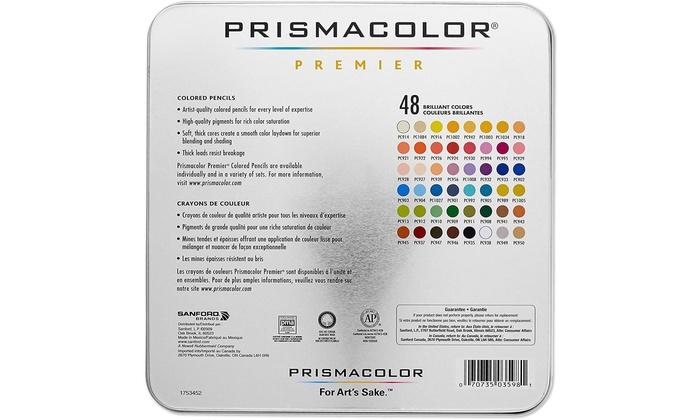 Primacolor Premier Coloured Pencil Set 48 Tin