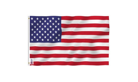 ANLEY Fly Breeze American US Flag Brass Grommets USA Banner Flags 3x5 4x6 Feet 9a430b13-59f9-403b-a8e8-cc8a6ef46a82