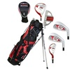 MOG 5 Piece Red Zone Golf Set-Stand Bag RH Ages 8-11