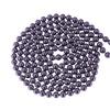 White Black Round Bead Multi Layer Long Maxi Necklaces