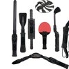 Cta Nintendo Wii 8-in-1 Sports Pack For Wii Sport Resort (black)