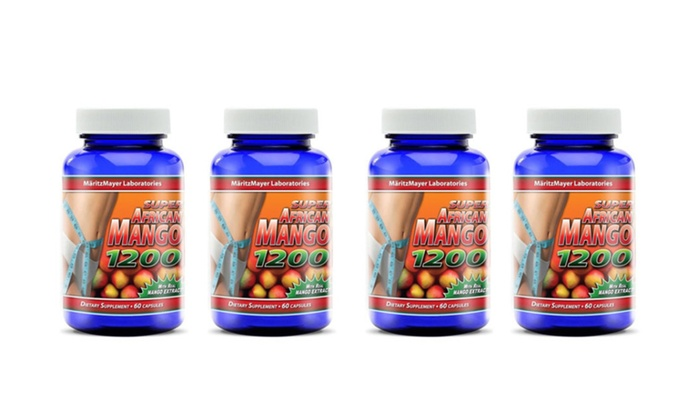 Super African Mango 1200 Extract Burn Fat Weight Diet Loss