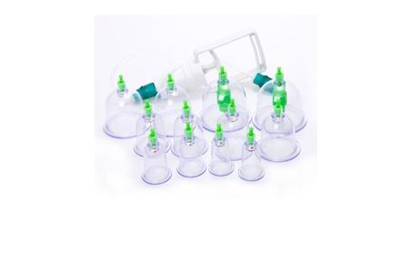 12 Cup Vacuum Suction Set Elmination Therapy Slim Massage Acupuncture ddddc1f6-cfc6-441c-9092-d3f7883fb5cb