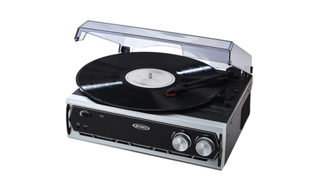 3 Speed Stereo Turntable with Built In Speakers and Speed Adjustment 2d7219fc-bb10-418f-a252-56a2ca4bbc98