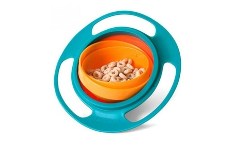 Baby Toy Universal 360 Rotate Spill-Proof Bowl Dishes 1f649745-1df7-45d1-bc5b-5647c69c8ce9
