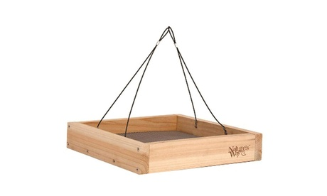 Natures Way Bird Hanging Platform Feeder 2.25X12X12 In Bamboo BWF3 (Goods Outdoor Décor Bird Feeders & Baths) photo