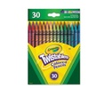 Crayola Twistables Colored Pencils, 30 Assorted Colors