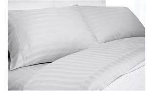 300TC Bamboo Elle Super Soft Striped Sheet Set