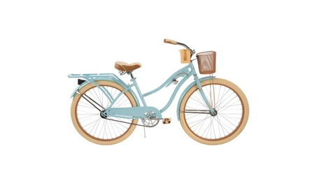 "Huffy 26"" Womens' Nel Lusso Cruiser Bike with Perfect Fit Frame, Blue c1395a30-fb95-441f-b1c1-9e620d1ac341"