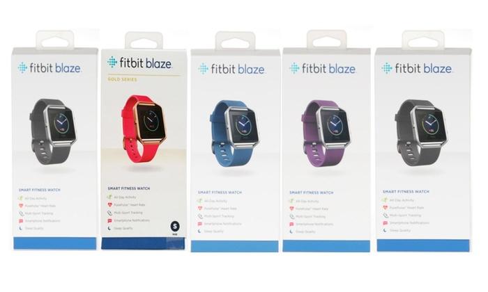 IBS Wireless: Factory Sealed Fitbit Blaze Fitness Watch