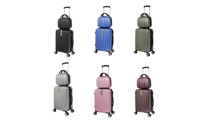 fa9daa2ef274 World Traveler Monaco 2-Piece Expandable Carry-On Spinner Luggage ...