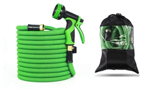 Upgraded Design Premium Expandable Garden Hose with Brass Connector at PC Mobile, plus 6.0% Cash Back from Ebates.