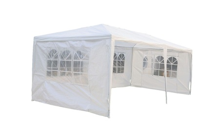 Outdoor 10'x20'Canopy Party Wedding Tent Gazebo Pavilion Cater Events 9b56292e-4f6a-445a-b880-d137806ca798