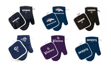 PSG NFL Oven Mitt & Potholder Set photo