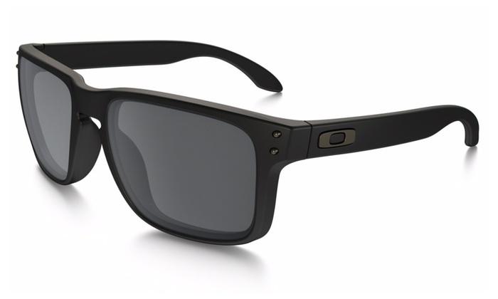 Oakley Holbrook Sunglasses w/ Matte Black Frame & Black Iridium Lenses