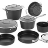 Cuisinart 62I-11 Conical Hard Anodized 11-Piece Induction Cookware Set