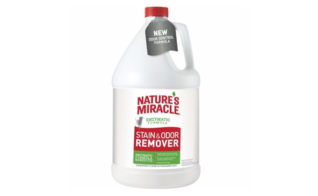 UPG 309530 128 oz Natures Miracle Dog Stain & Odor Remover 7f28b532-ab2c-48b7-8e29-7a947449646f
