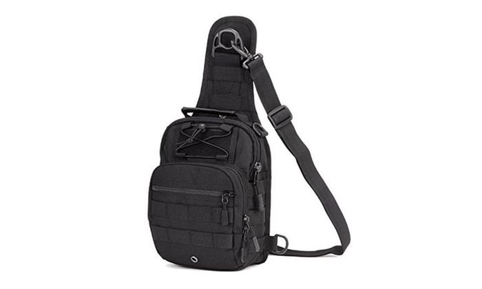 SUNVP Tactical Military Sling Chest  Daypack Laptop Backpack For Hunting, Camping and Trekking