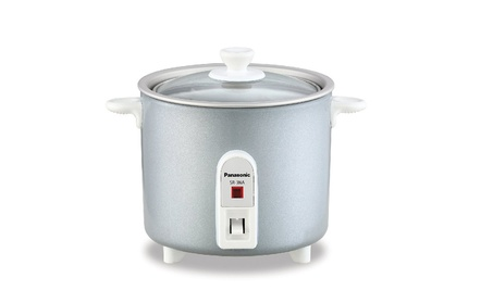Panasonic SR-3NAL 1.5-Cup Automatic Rice Cooker, Silver 27417580-9113-4b8a-a70f-5af3a34511ed
