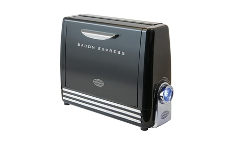 Nostalgia BCN6BK Bacon Express Crispy Bacon Grill 47bdc44d-b457-4320-aa08-adb77ae3add9