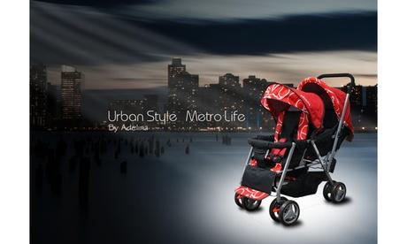 Adelina 2018 Double Stroller - Urban Series ea41c3d5-d970-4078-9ea6-23ebb6c7703d