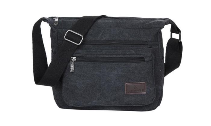 Men's Casual No Handle Shoulder Bag