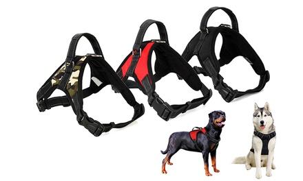 Dog Harness Adjustable No-Pull Pet Saddle Vest Reflective for Dogs Easy Control