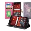 Insten Design Flip Leather Case w/stand/card holder For ZTE Grand X 4