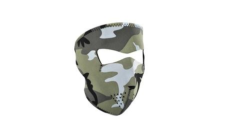 Zan Headgear WNFM202 Neoprene Face Mask Urban Camouflage 087cb859-ed93-4ca8-a6dd-f731f6bc0f33
