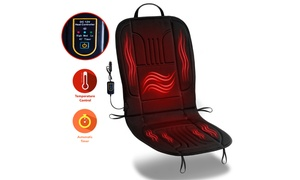 Zone Tech 2x Thickening Heated Car Seat Heater Heated Cushion Warmer
