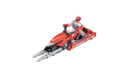 Power Ranger Operation Overdrive - Hovertek with Red Ranger dbe8d59e-8d8c-48e6-af4d-1c2d3976c57b