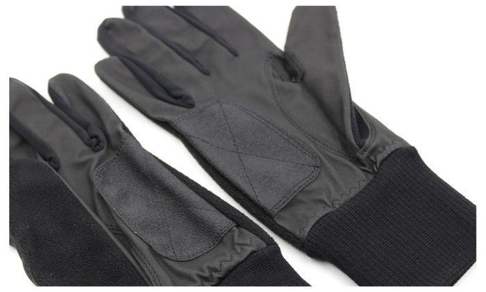 A99 G03 Golf Black Leather Sports Winter Gloves for Men