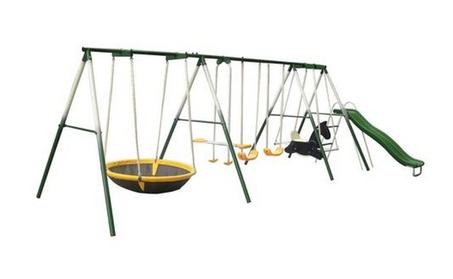 Sportspower Super 8 Fun Metal Swing Set 6f0dc3d6-2c15-4eed-a859-a919becb9341