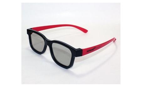 Xpand - Passive Universal 3d Glasses - Black/red 9b64df3f-afcf-44b3-92cf-3057d08a1e1c