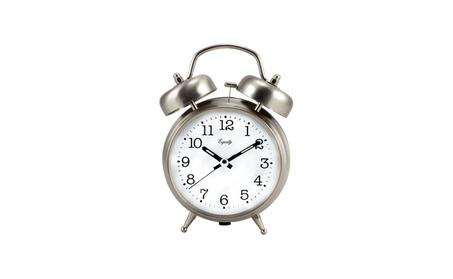 Battery Powered Twin Bell Quartz Analog Alarm Clock 21bd31d7-098b-44c1-b137-a4eec5f70237