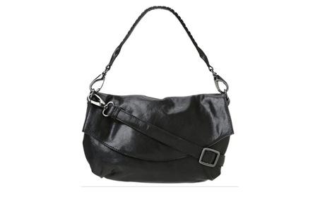 Latico Lotte 5521 Black Leather Purse Handbag (Goods Women's Fashion Accessories Handbags Cross-Body) photo