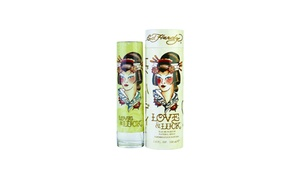 Love & Luck by Ed Hardy 3.4oz/100ml Edp Spray For Women New In Box