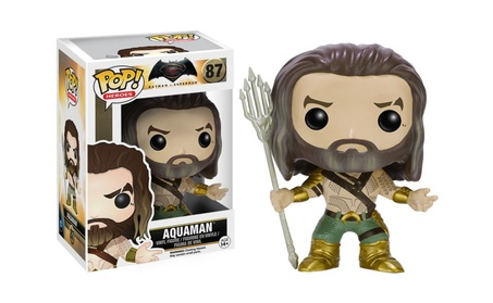 Funko Pop Heroes Batman vs Superman Aquaman Vinyl Figure #87 - Vaulted fa593a24-b5e6-48bb-82b3-59889d708982
