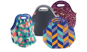 Built NY Fashion-Print Neoprene Insulated Lunch Bag