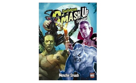 Alderac Entertainment Group 5506 Smash Up - Monster Smash Expansion
